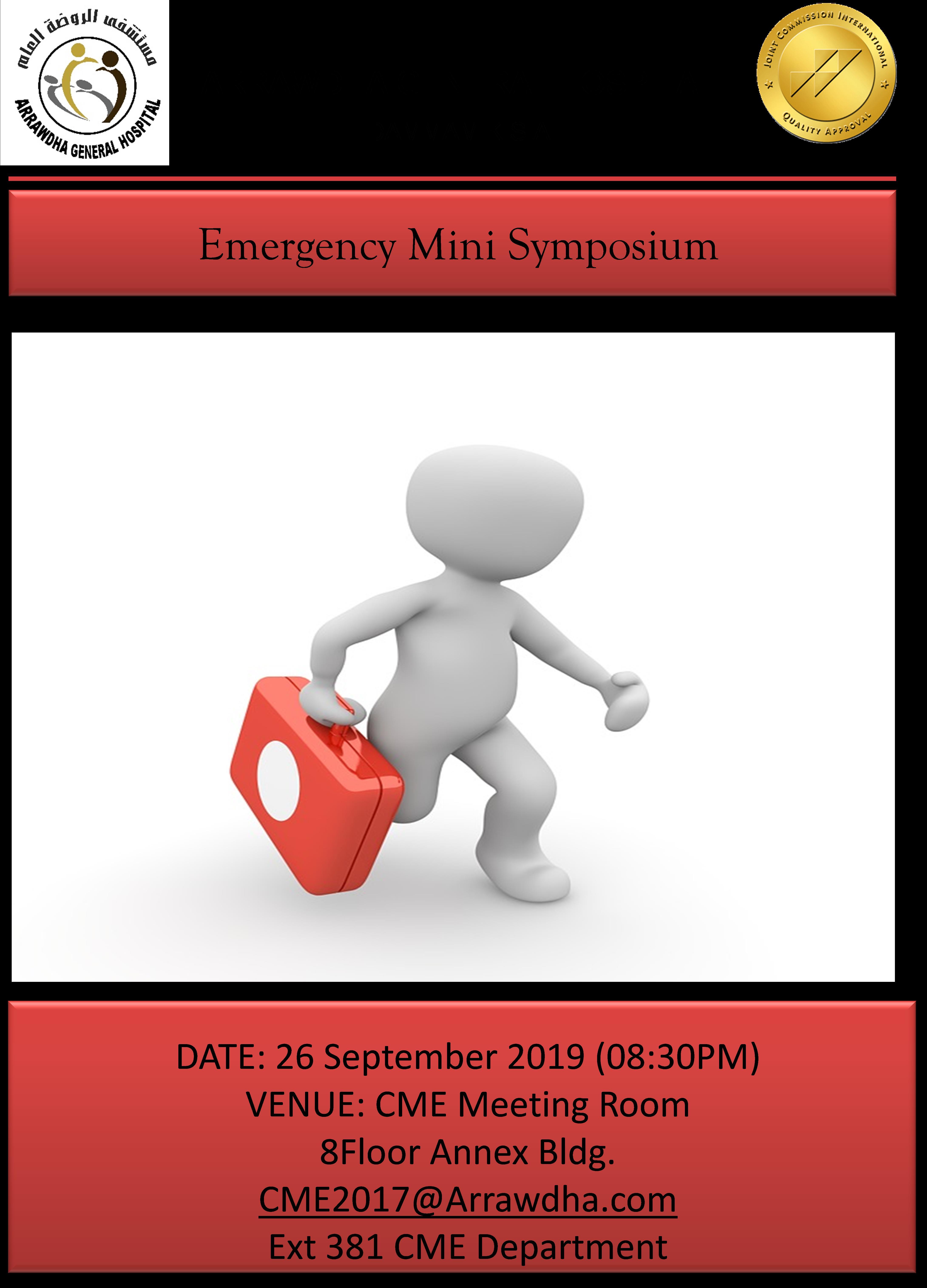 Emergency Mini Symposium